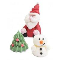 ScrapCooking Suikerdecoratie Kerst 3D - Set/3