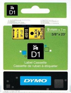 DYMO S0720730 labelprinter-tape Zwart op geel