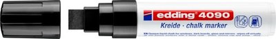 Edding 4090 Window marker Krijt Marker zwart