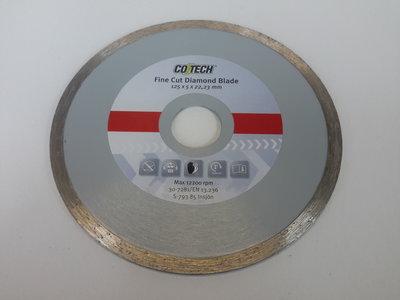 Diamant Slijpschijf voor tegels en natuursteen 125 mm