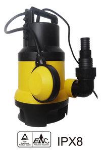 Dompelpomp Vuilwater Pomp met vlotter 9500 l/h