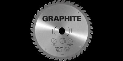 GRAPHITE Cirkelzaagblad 185 mm, 36 tands, Hout