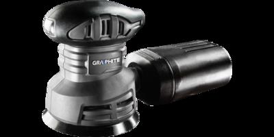 EXCENTRISCHE SCHUURMACHINE 240 Watt 125 mm - GRAPHITE