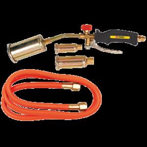TOPEX Gas Dakbrander/Onkruidbrander set 25 - 35 - 50 mm