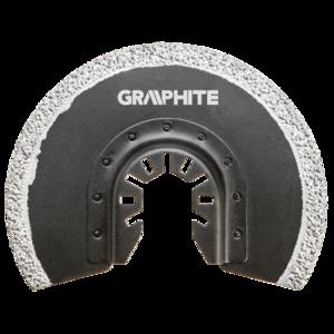 GRAPHITE Multitool Diamant Blad 85 mm Half Rond