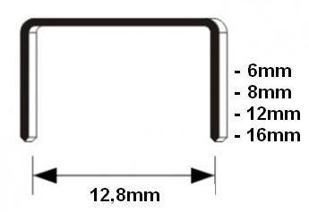 Nieten voor meubeltacker 16 mm